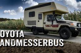 Toyota Land Cruiser HZJ 79 mit Landmesserbus-Kabine - Roomtour - 4x4PASSION #291