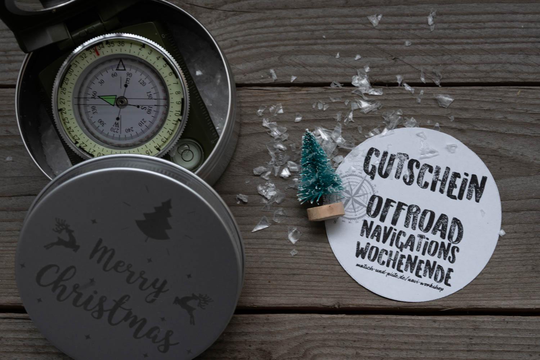 Geschenkbox Wochenend-Workshop Offroad Navigation