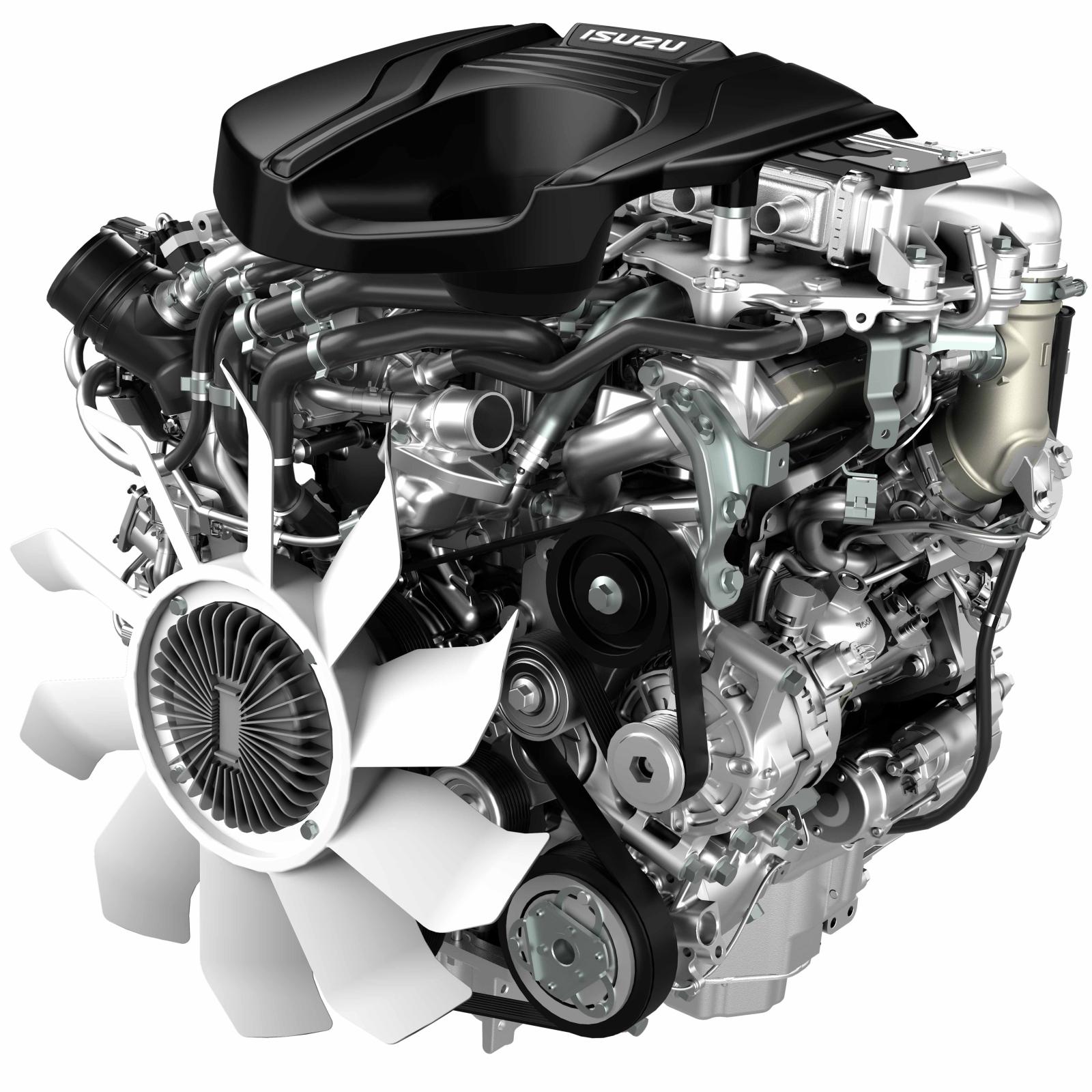 Der überarbeitete 1,9 Liter Turbo-Dieselmotor.