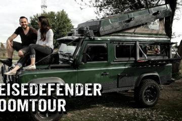 Defender 300 Tdi mit Hubdach als Camper - Roomtour - 4x4PASSION #293