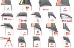 TREKFINDER Kotflügelverbreiterungen Universal für jeden Fahrzeugtyp und Einsatzzweck.