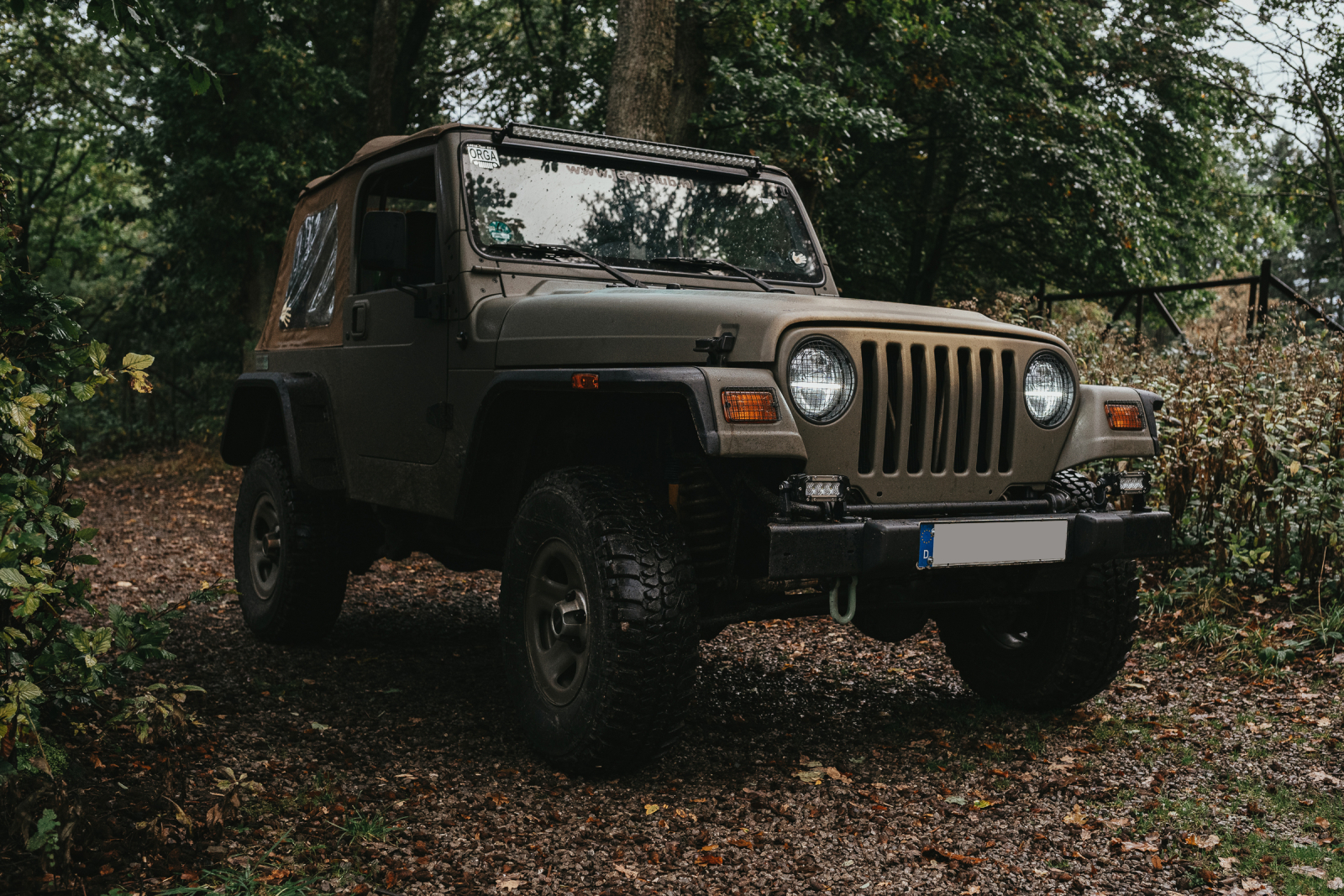 Dees Jeep Wrangler TJ - Titelbild