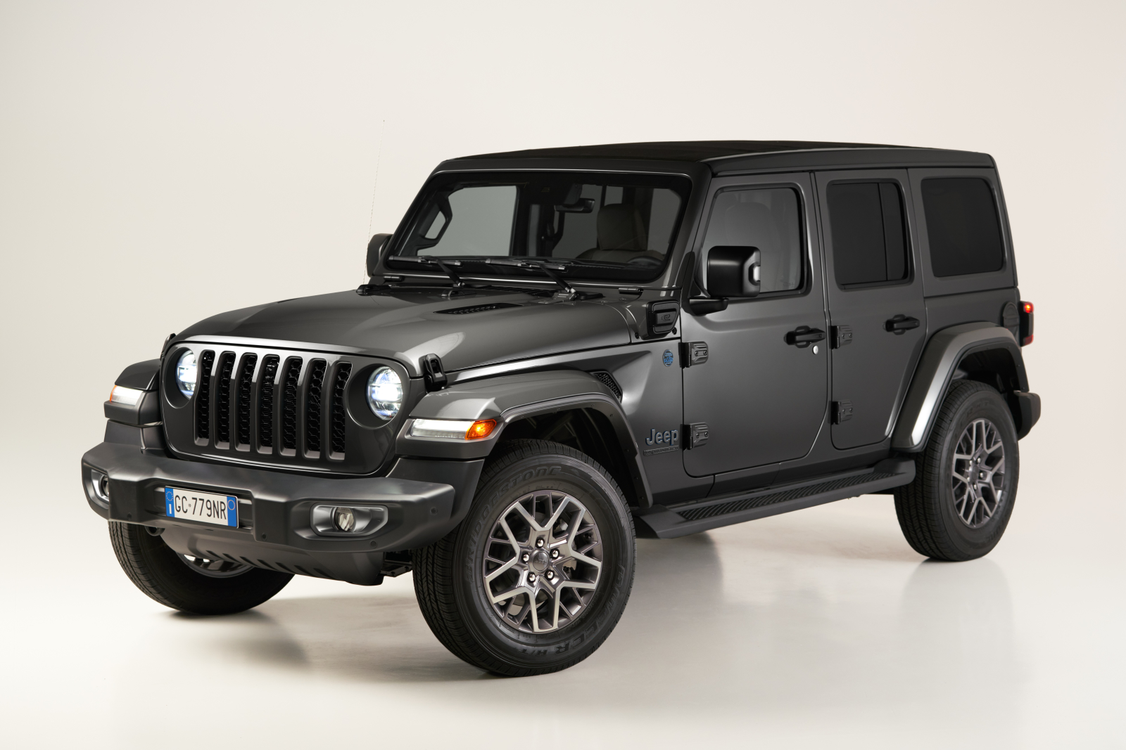 Der Jeep Wrangler 4xe First Edition.