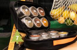 Delta-BAGS Spice Box für Gewürze auf Reisen