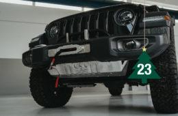 re-suspension Unterfahrschutz Jeep Wrangler JL