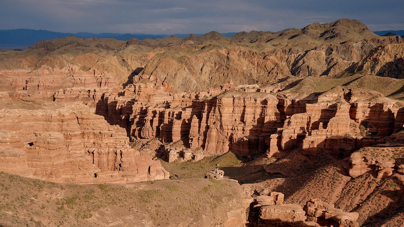 Transit durch Kasachstan - Der Scharyn Canyon.