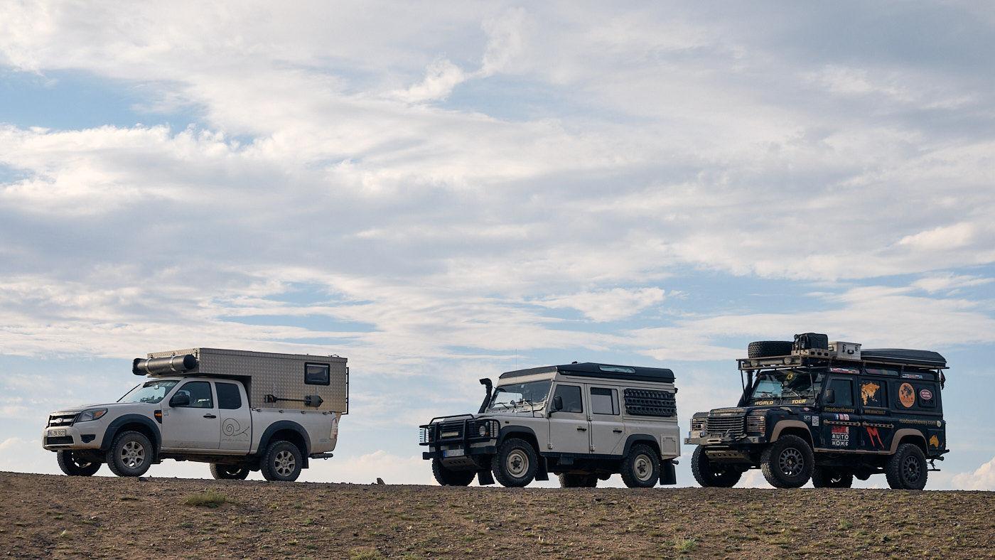 Transit durch Kasachstan - Übernachtungsplatz am Scharyn Canyon.