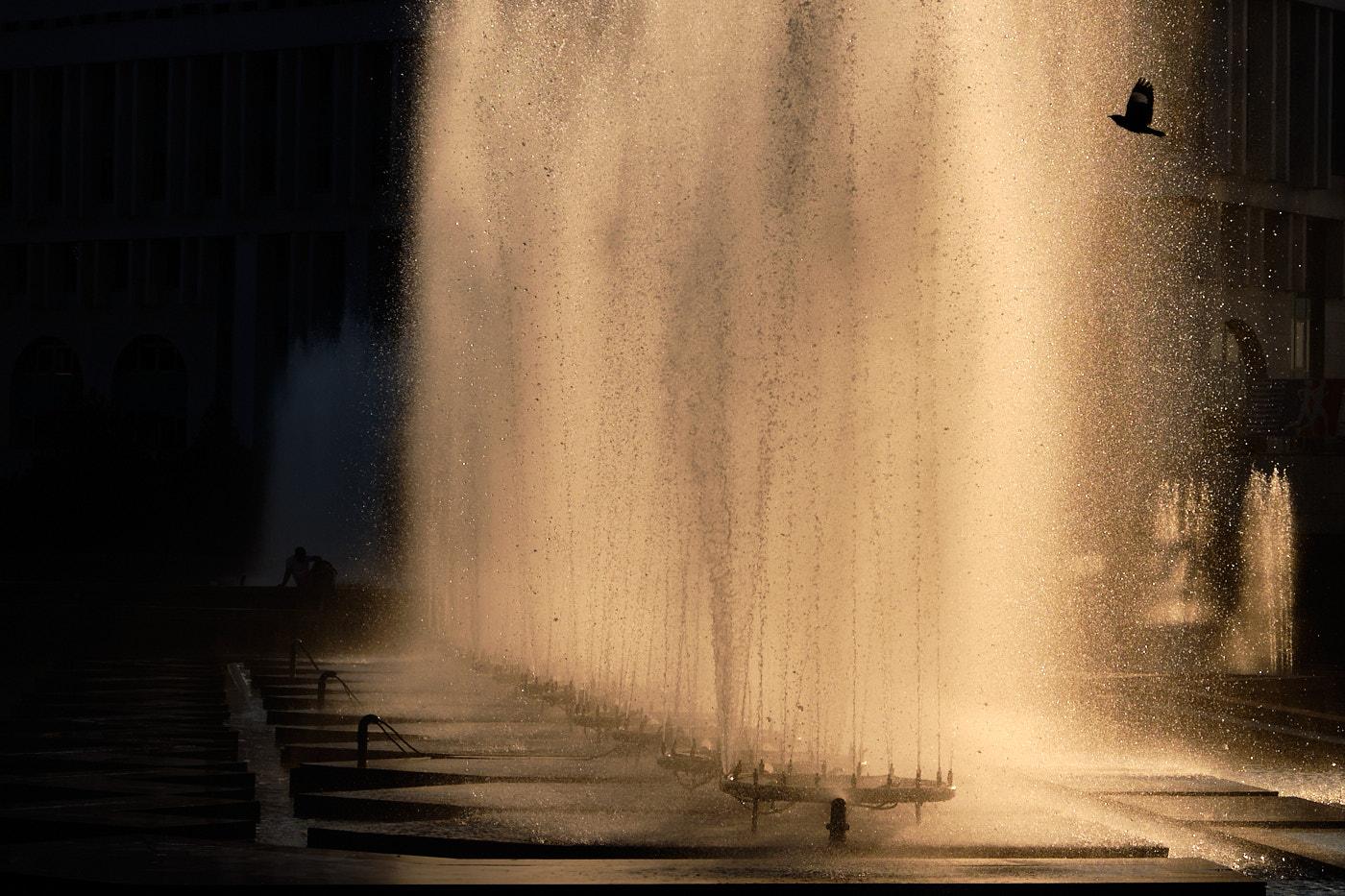 Springbrunnen in Almaty...