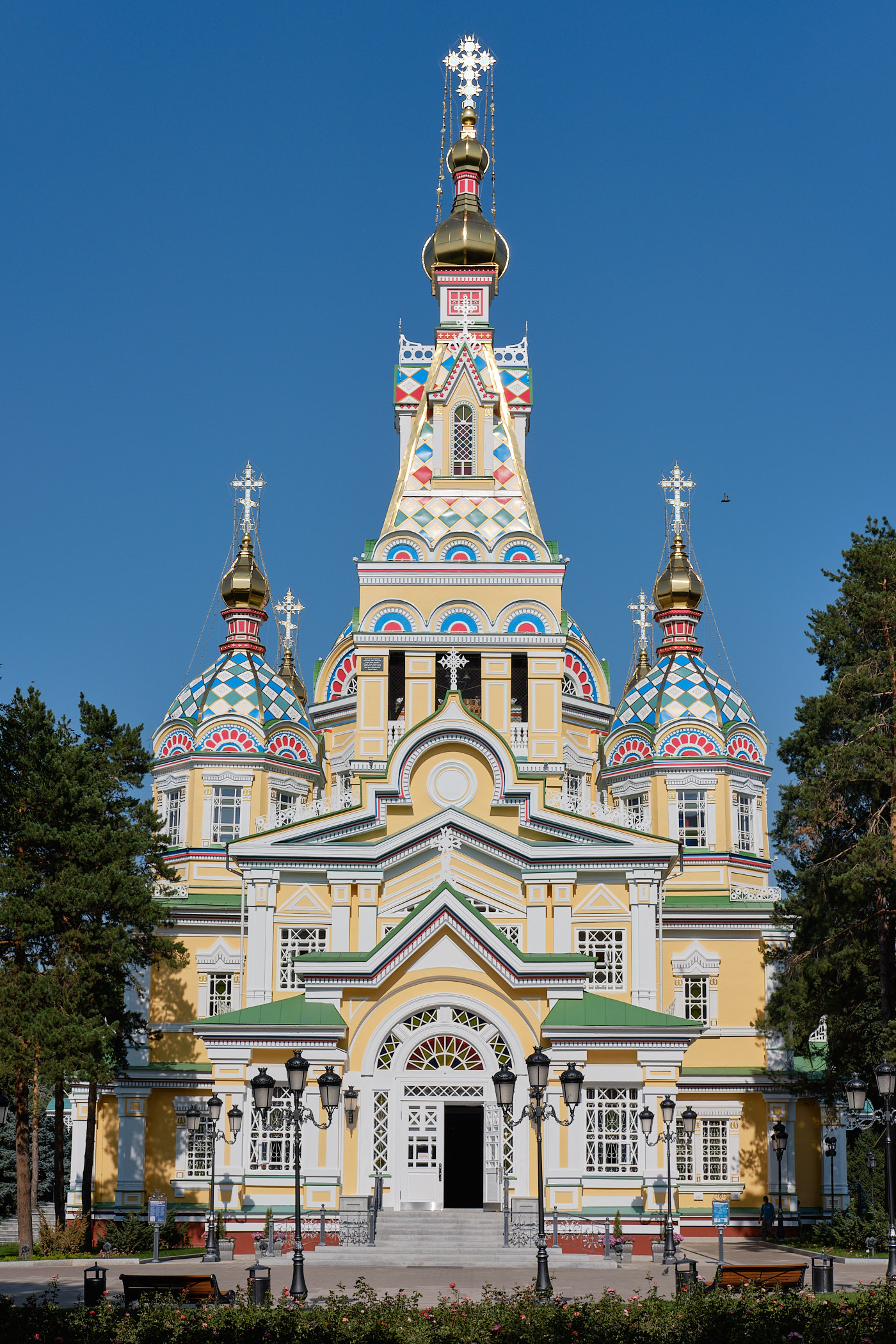 Die Christi-Himmelfahrt-Kathedrale.