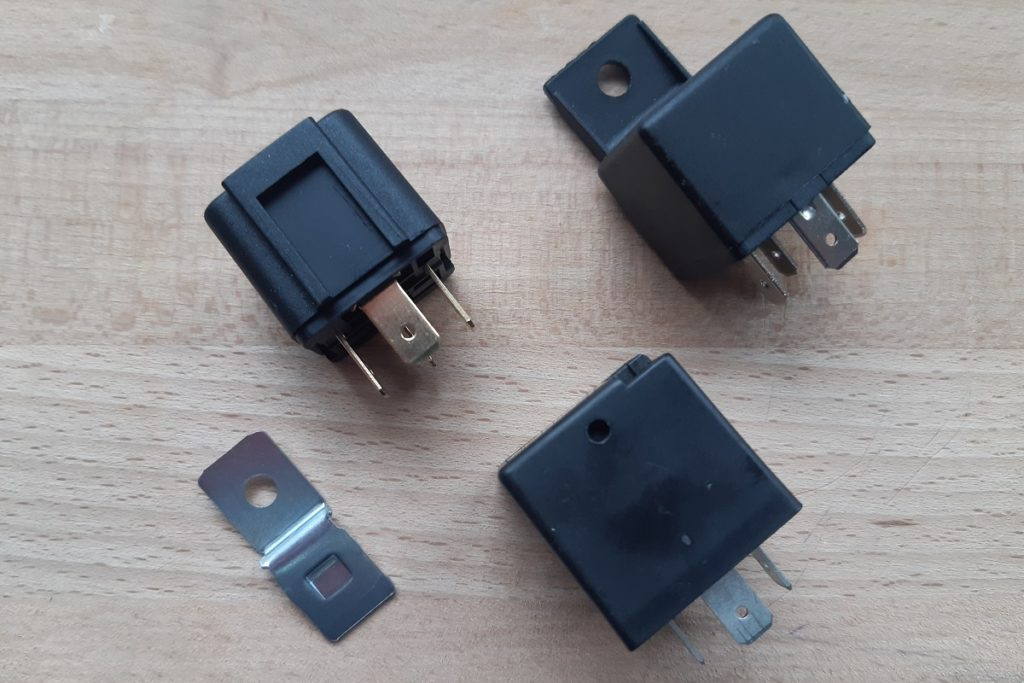 Relais gibt es in verschiedenen Bauformen und Belastungsstärken.