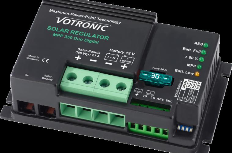 Votronic MPP 350 Duo Digital Solar-Laderegler.