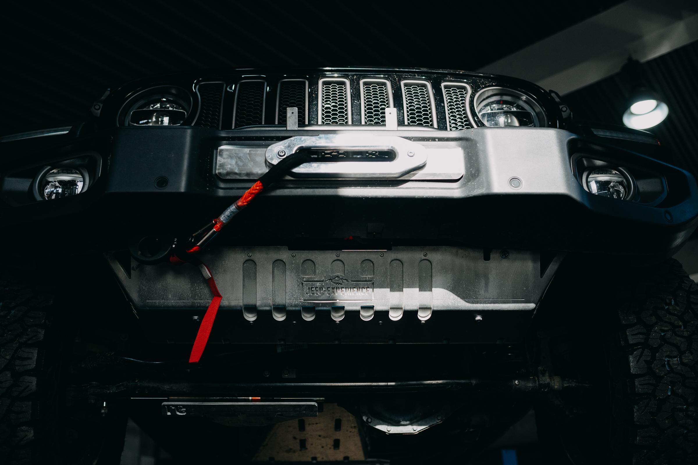 Windenträger Jeep Wrangler JL JLU