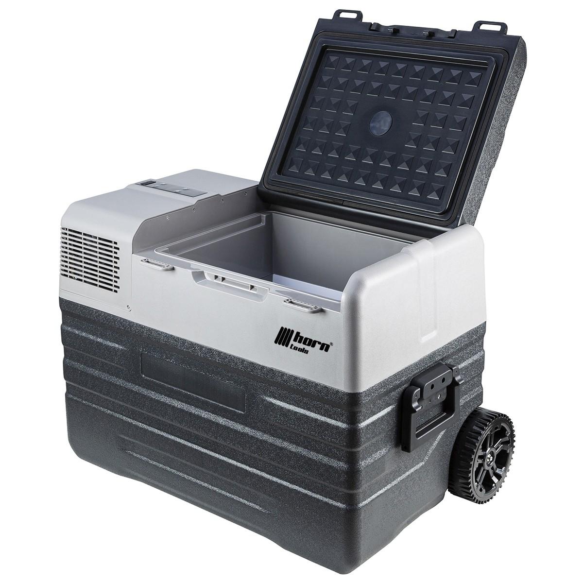 Horntools Kühlbox mit Gefrierfunktion: FreezBox 52 Liter.