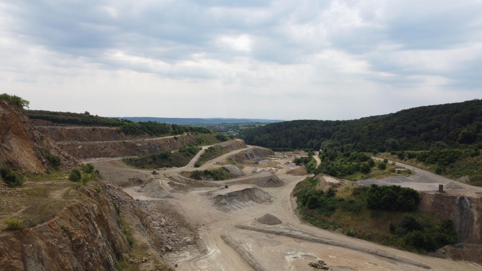 Die neue Location, der Steinbruch Hengl.