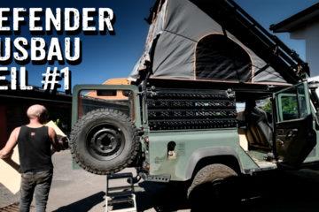 Reiseausbau für einen Defender 110 - Teil #1 - 4x4PASSION #329
