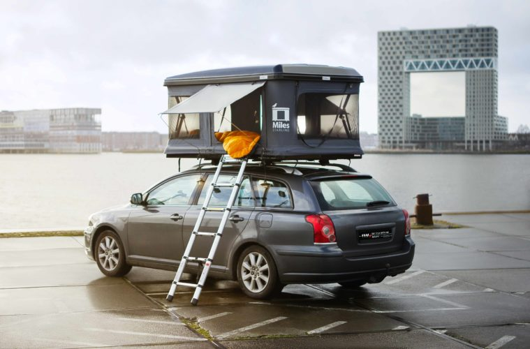 Dare to be Different Outdoor Hartschalen-Dachzelt Miles Starling