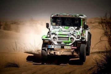 Schnell unterwegs - Der VR 4580 auf der Fenix Rallye 2021.