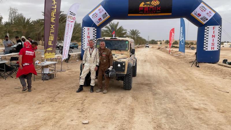 Am Ende doch im Ziel. Das war die Fenix Rallye 2021.