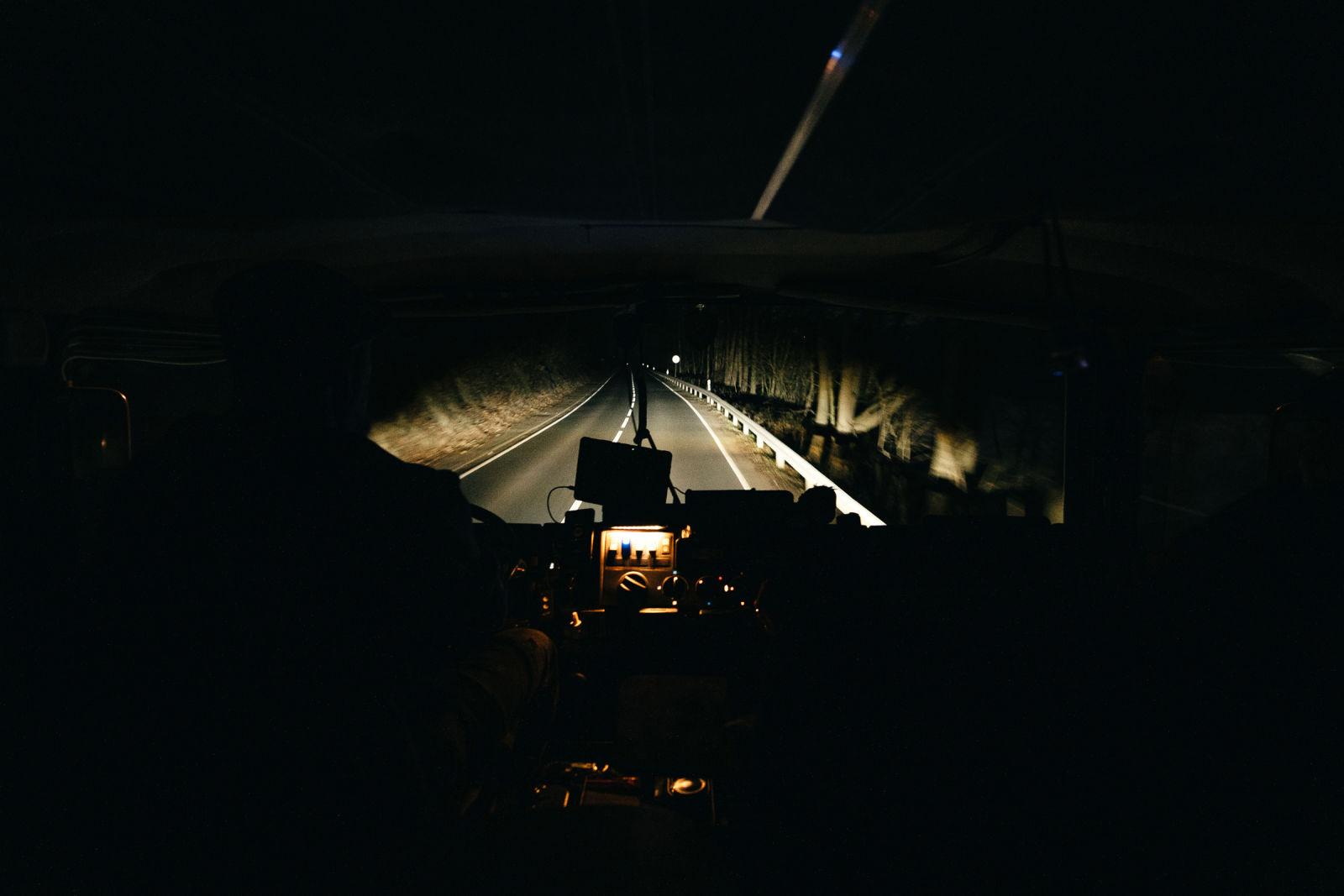 LKW LED-Licht mit LED-Fernlicht.