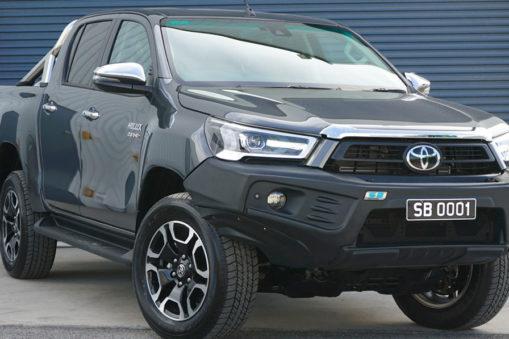 Leichte Stoßstange ARB Stealthbar für den Toyota Hilux