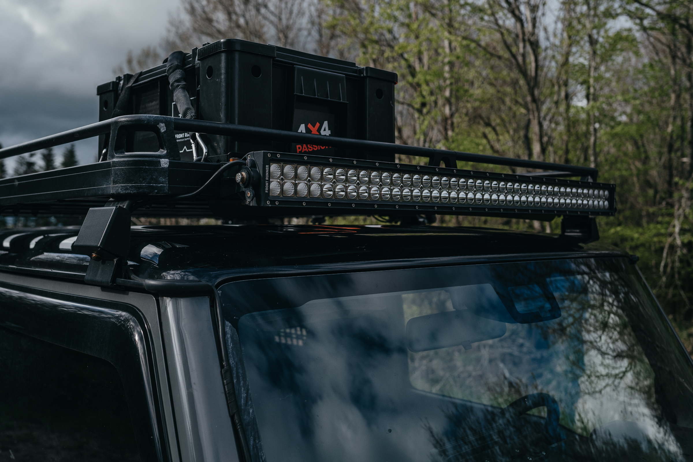 LED-Lightbar Suzuki Jimny GJ