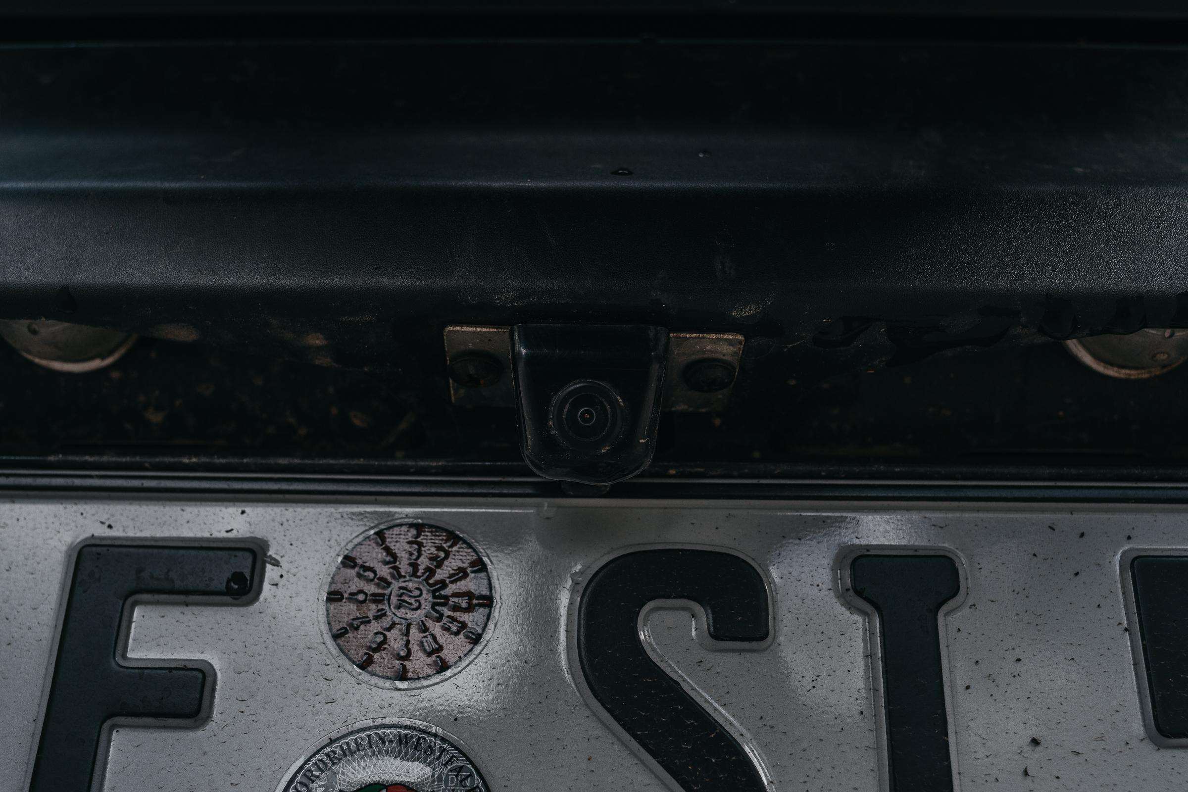 Rückfahrkamera für den Suzuki Jimny