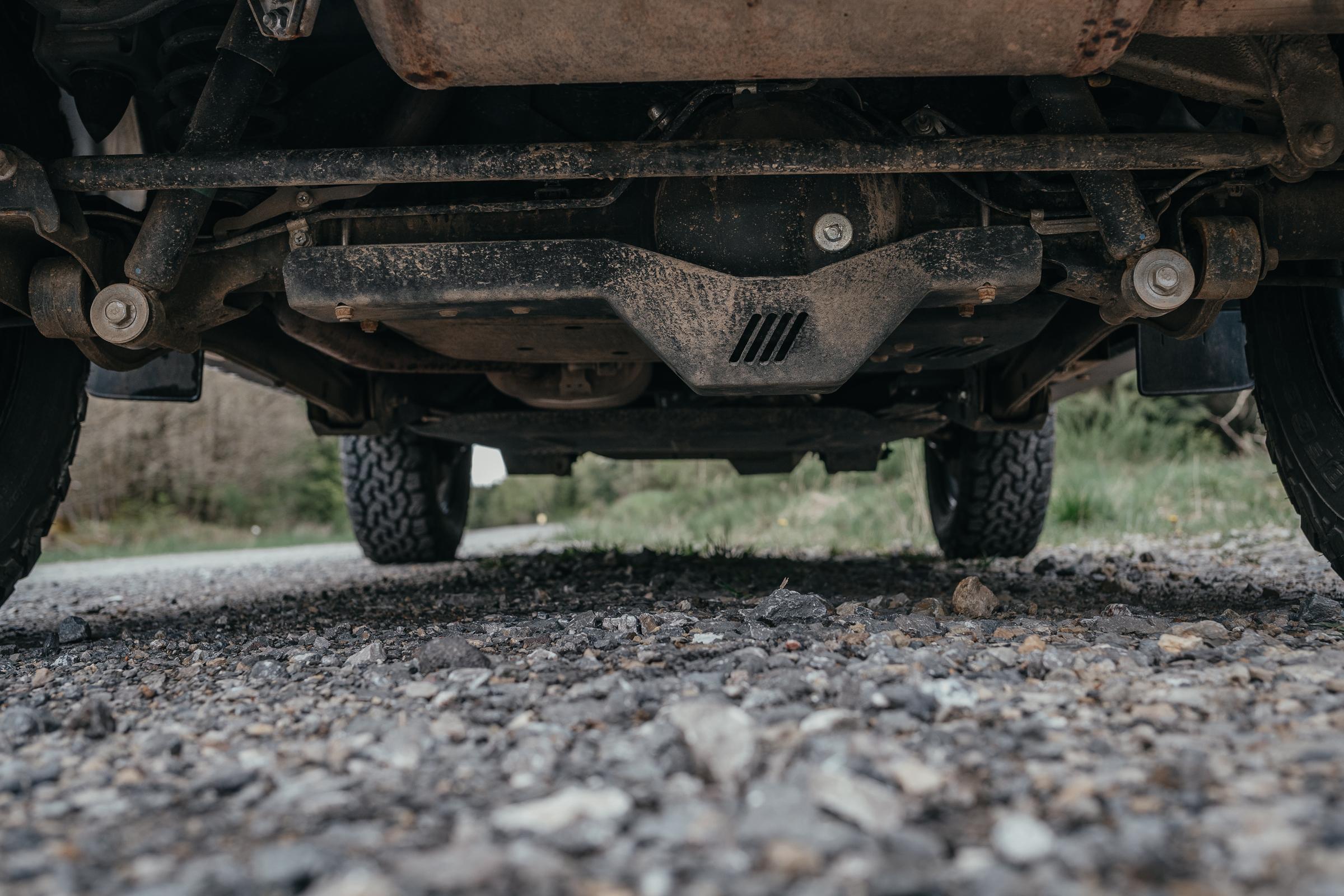 Unterfahrschütze von Horntools für den Suzuki Jimny GJ