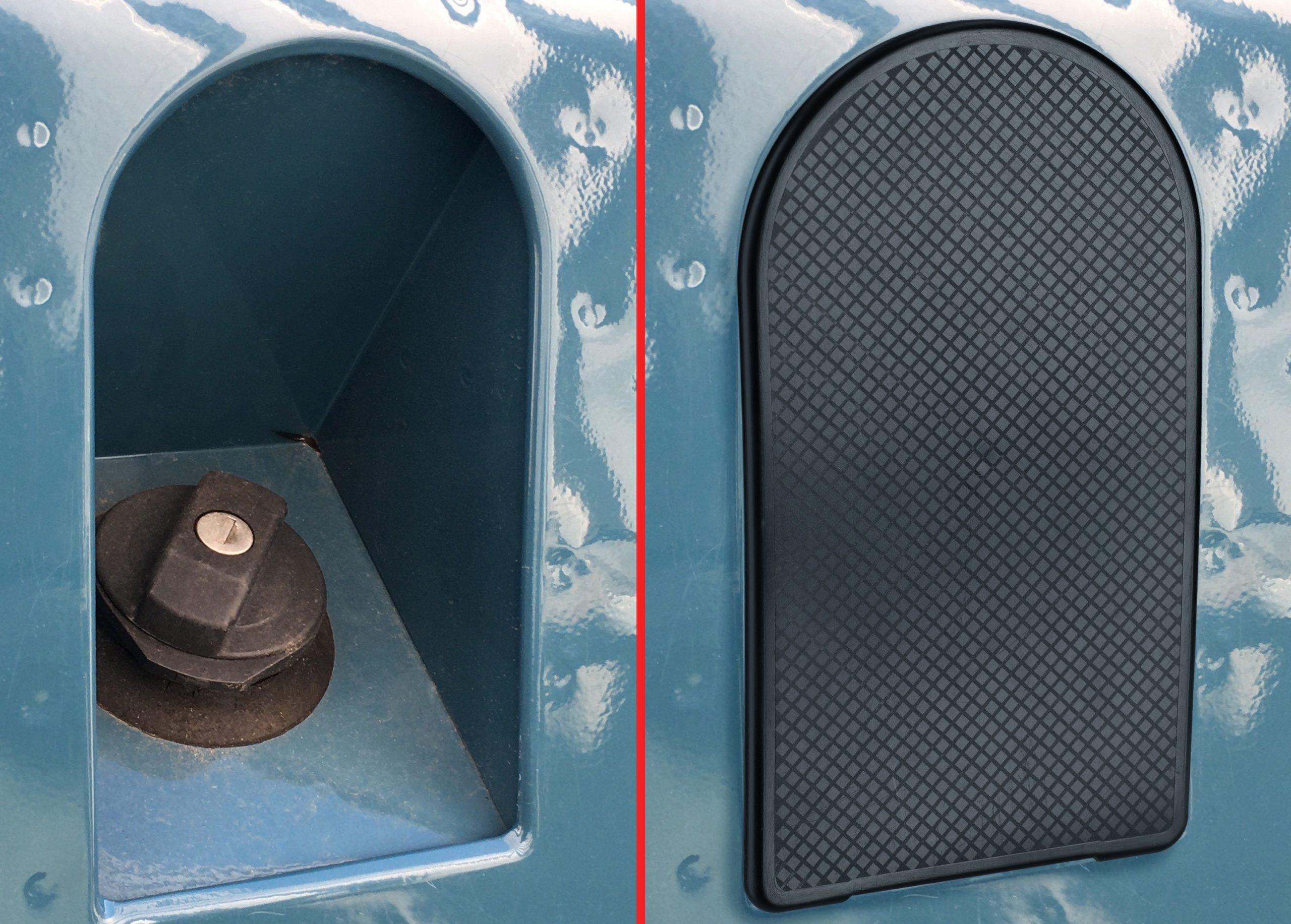 Tankdeckel-Abdeckung für den Defender