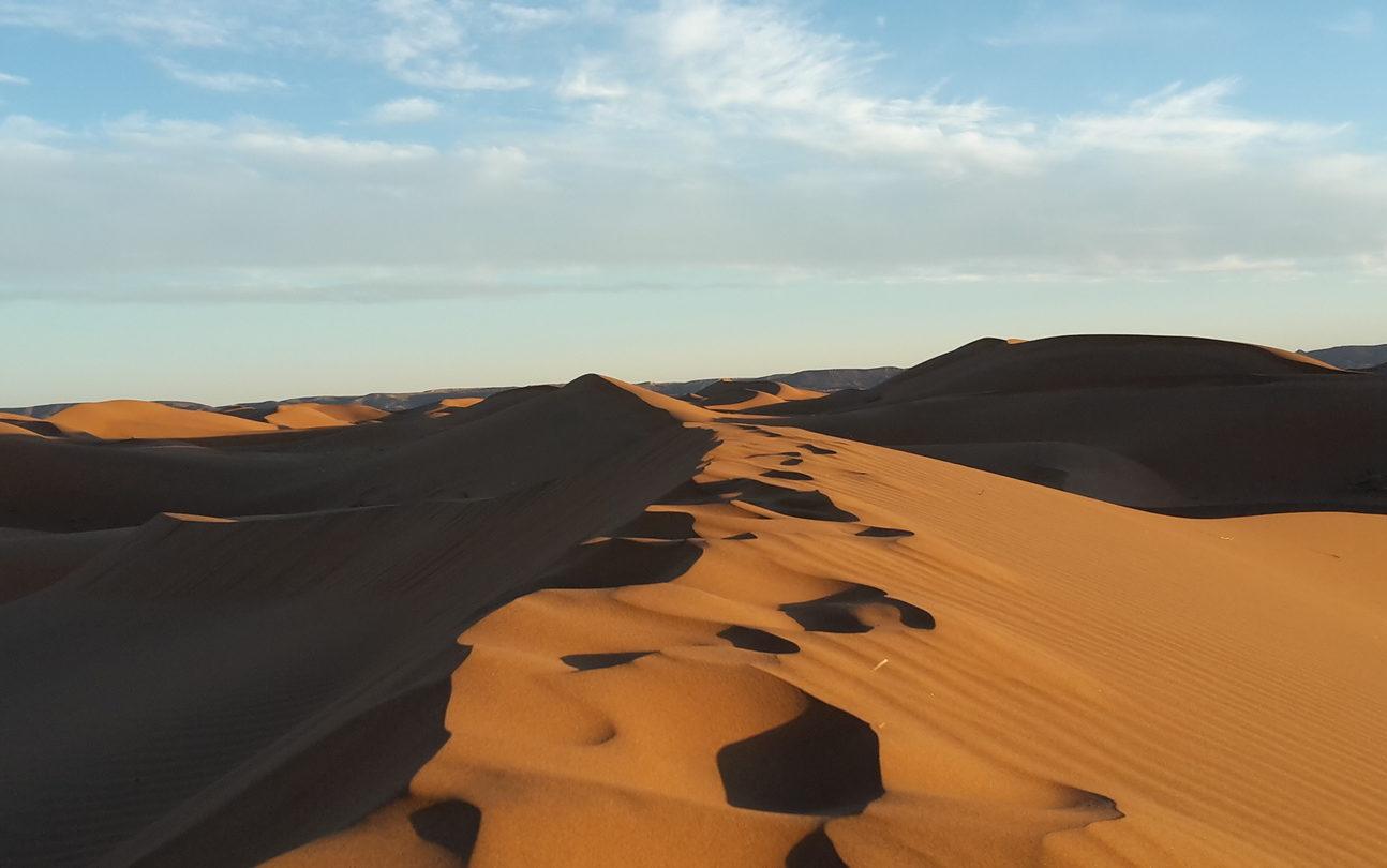 Six Dunes Marokko Für Liebhaber des Sandfahrens.
