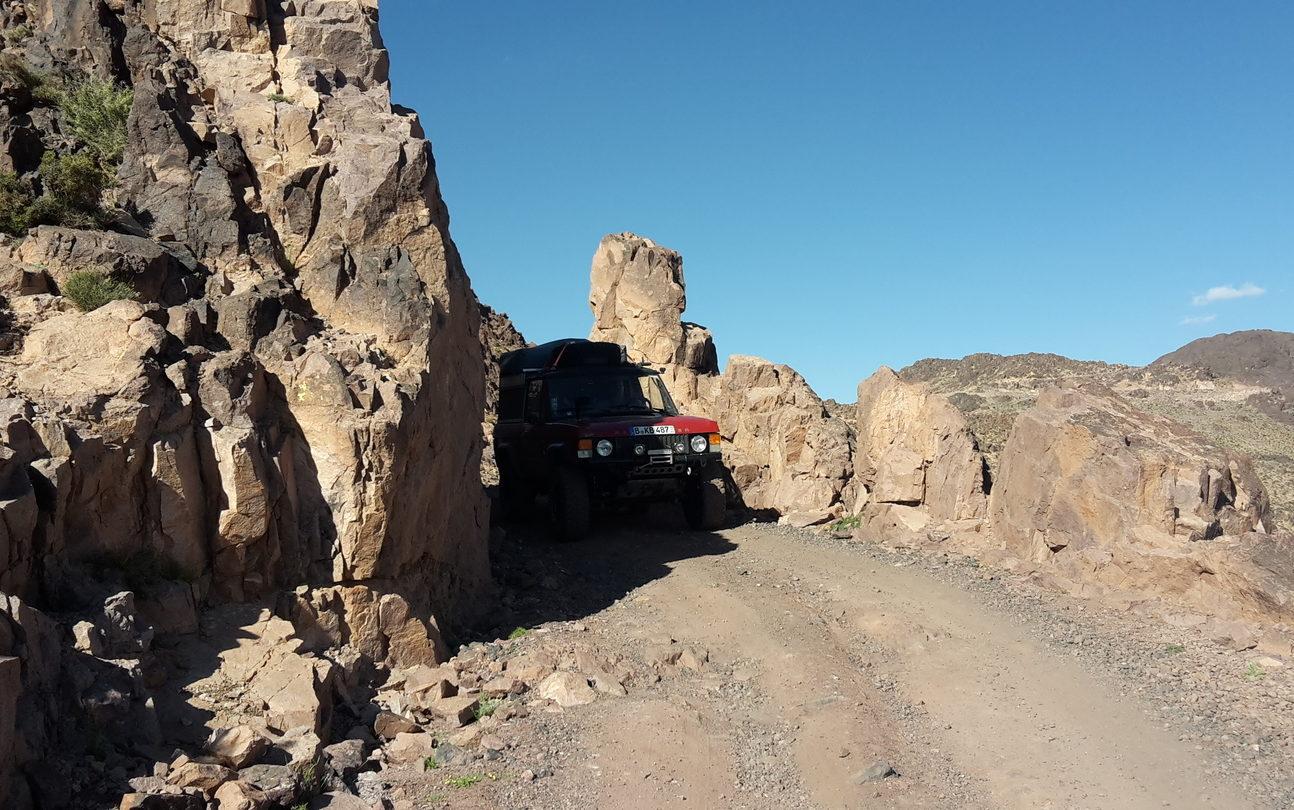 Six Dunes Marokko - Enge und schmale Pisten gehören auch dazu.