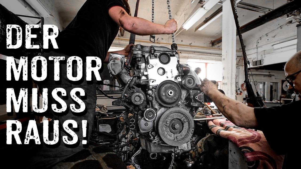 Land Rover Defender TD5 Motorausbau