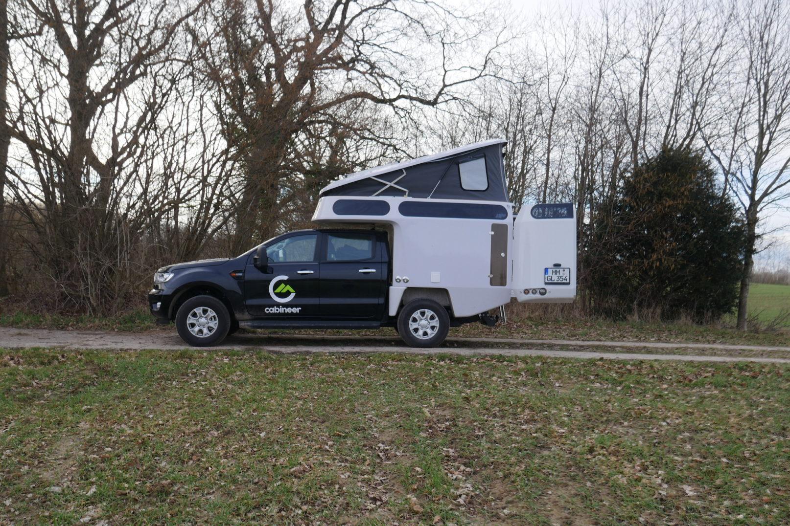 Cabineer nachhaltige Pick-up-Kabine aus Deutschland